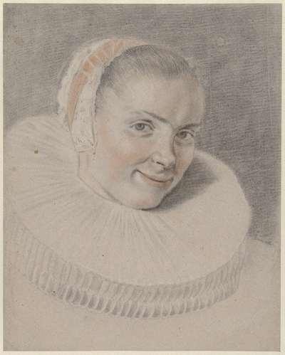 Portret van Beatrix van der Laen