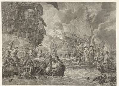 The Dutch Raid on the Medway and the Capture of the Royal Charles, 1667
