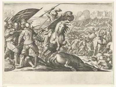 De troepen van Ferdinando I de' Medici winnen de strijd tegen de Turkse cavalerie; Leven van Ferdinando I de' Medici