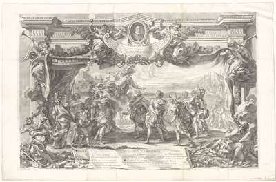 Promotieprent opgedragen aan Innocentius XII, mei 1693