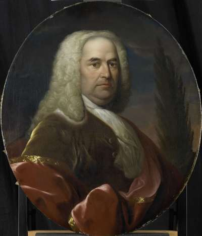 Image from object titled Portrait of Hugo du Bois, Director of the Rotterdam Chamber of the Dutch East India Company, elected 1734