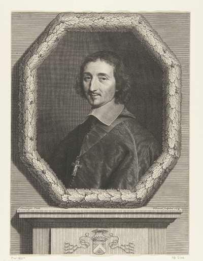 Portret van Ferdinand de Neufville