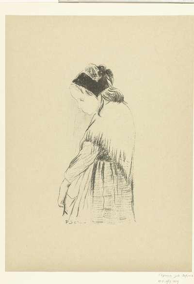 Meisje uit Bretagne; Souvenir de Bretagne; L'Epreuve
