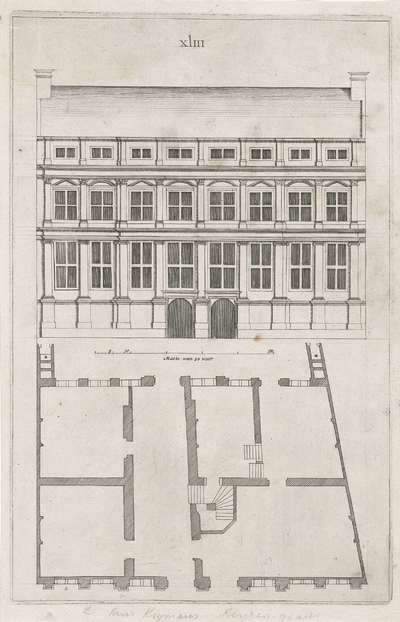 Huis Koymans Keizersgracht; Architectura Moderna ofte Bouwinge van onsen tyt