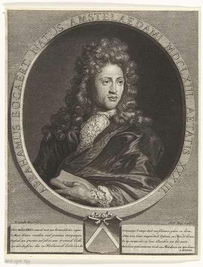 Portret van Abraham Bogaert