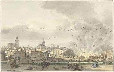 De ontploffing van het Kruithuis in Delft, 12 oktober 1654