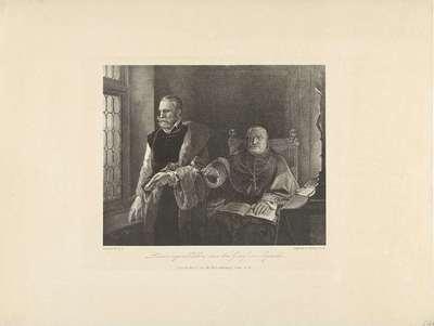 De laatste ogenblikken van Egmond in zijn cel, 1568; Laatste oogenblikken van den Graaf van Egmond