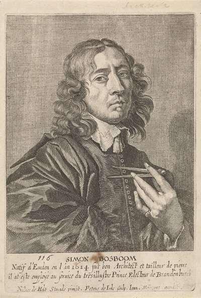 Portret van Simon Bosboom