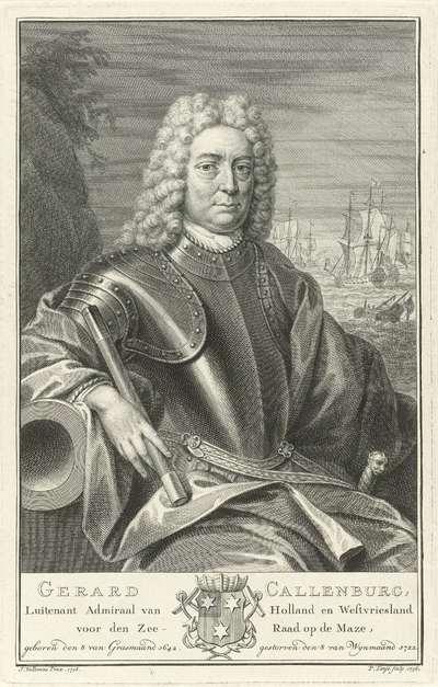 Portret van Gerard Callenburgh