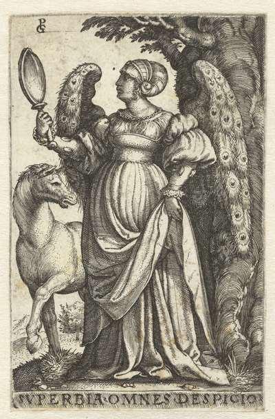 Hoogmoed (Superbia); Svperbia omnes despicio; Zeven Hoofdzonden