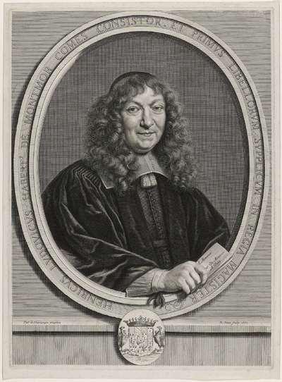 Portret Henricus Ludovicus Habert de Montmor