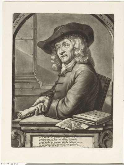Portret van Jan Pietersz. Zomer