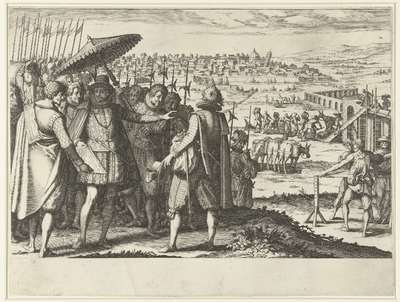 Ferdinando I de' Medici laat het aquaduct bij Pisa repareren; Leven van Ferdinando I de' Medici