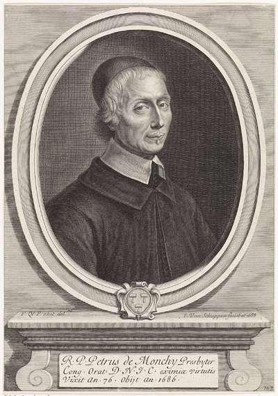 Portret van de presbyteriaan Petrus de Monchy