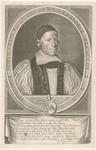 Portret van Edward Reynolds