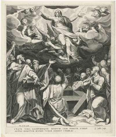 Image from object titled Hemelvaart van Maria; Leven van Maria