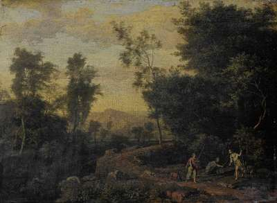 Image from object titled Landscape with Diana Hunting