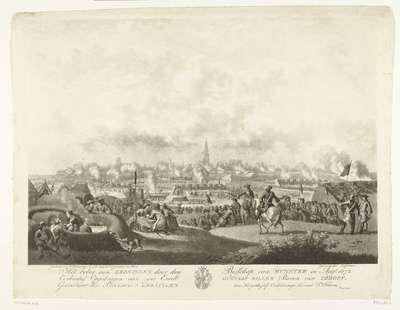 Beleg van Groningen, 1672; Het beleg van Groningen door den Bisschop van Munster in Aug.s 1672