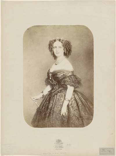 Image from object titled Portret van Sophie van Württemberg