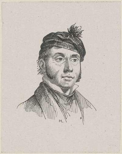 Portret van Pierre François de Noter (de Jonge)