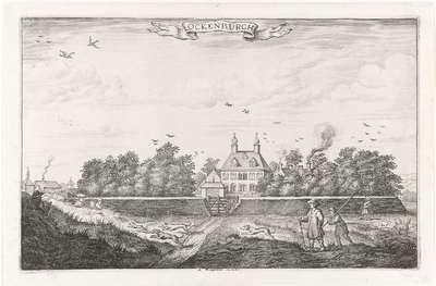 Image from object titled Gezicht op het buiten Ockenburgh; Ockenburgh