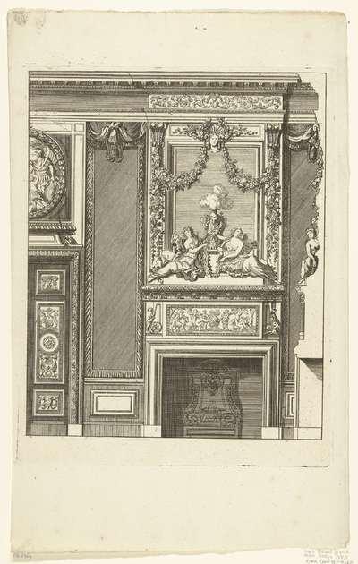 Schouw voor een wand; Novae cheminae