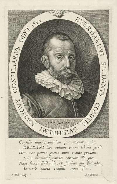 Portret van Everard van Reyd