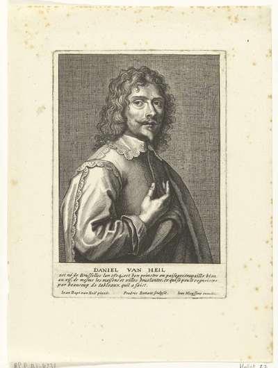 Portret van Daniël van Heil