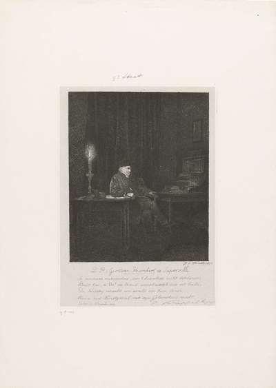 Portret van Humbert de Superville