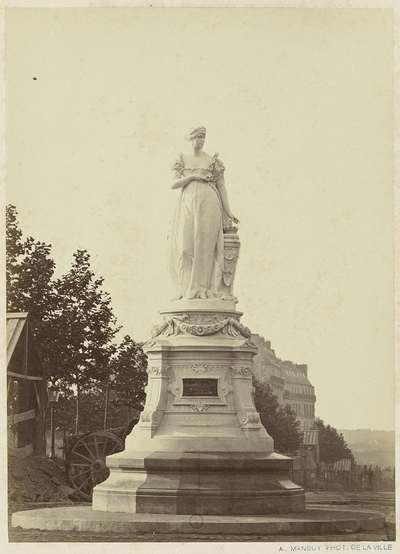 Image from object titled Standbeeld van Joséphine de Beauharnais, Parijs; Statue de l'imp ce Josephine