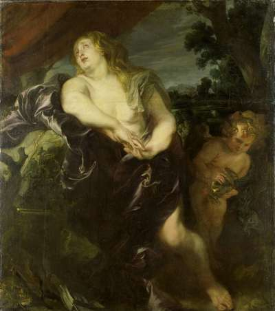 Image from object titled The Penitent Mary Magdalene