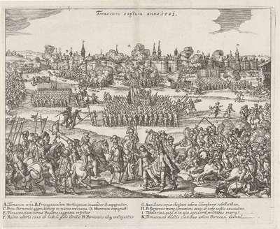 Verovering van Doornik, 1581; Tornacum captum anno 1581