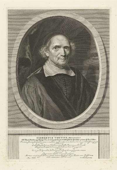 Portret van Gisbertus Voetius