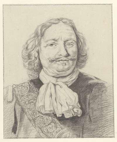 Portret van Egbert Meussen Kortenaer