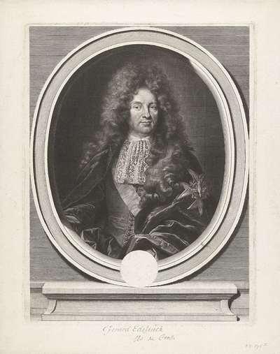 Portret van Charles Colbert