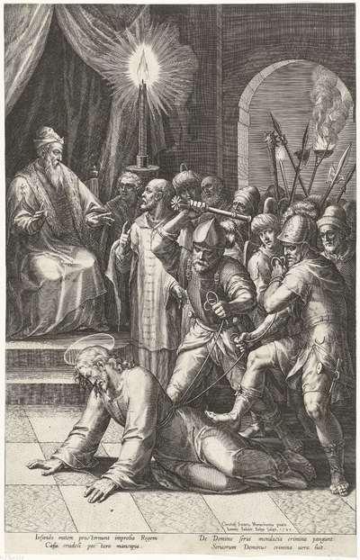 Christus voor het Sanhedrin; Passie van Christus; Pręcipua Passionis D.N. Jesu Christi mysteria