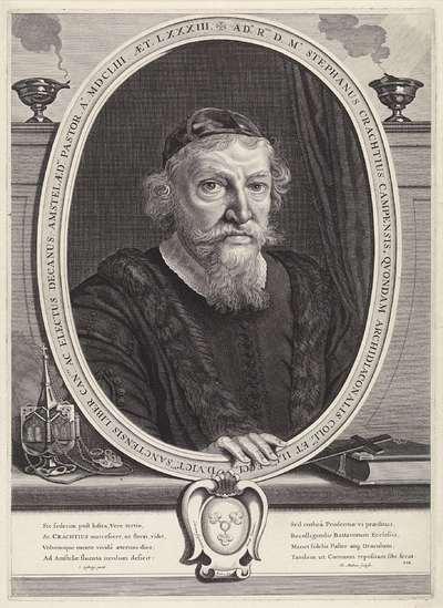 Portret van Stephan Crachtius