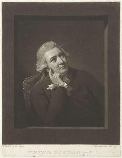 Portret van John Wolcot