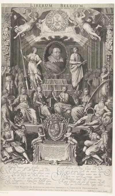 Frederik Hendrik als beschermer van Religie en Vrijheid, 1628; Liberum Belgium
