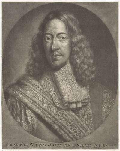 Portret van Cornelis de Witt