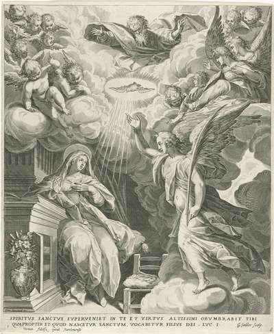 Image from object titled Annunciatie; Leven van Maria