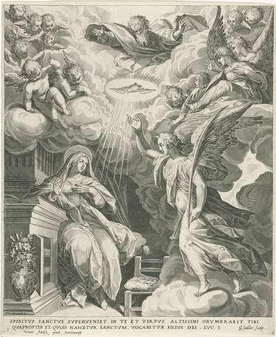 Annunciatie; Leven van Maria