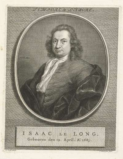 Portret van Izaak le Long