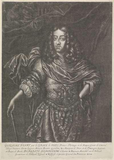 Portret van Willem III, prins van Oranje