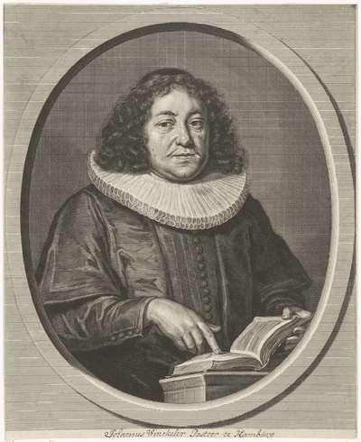 Portret van Johann Winckler