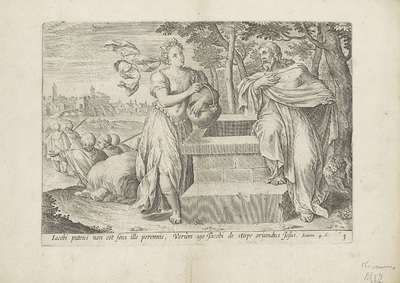 Christus en de Samaritaanse vrouw; Bekeringen van zondaars; Theatrum biblicum (...)