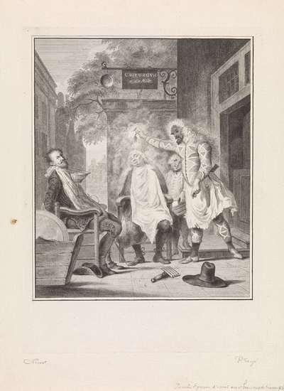 Arlequin, tovenaar en barbier: de bedrogen rivalen; Arlequin toovenaar en barbier / Arlequin magicien & barbier