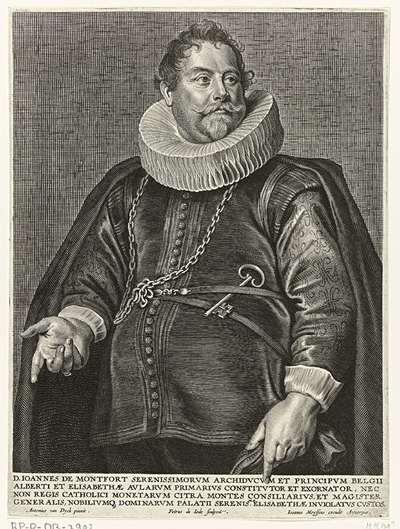 Portret van Jan van Montfort