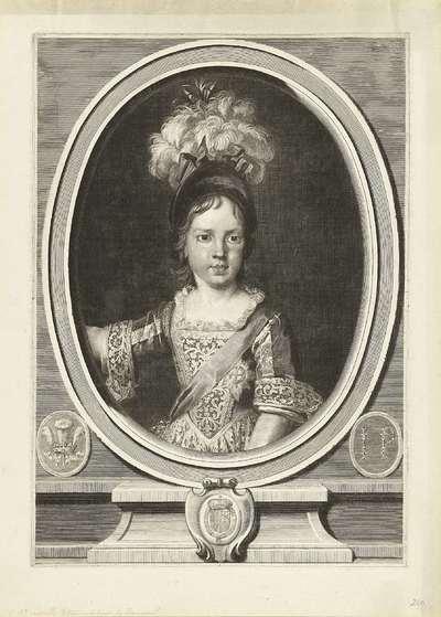Portret van Jacobus Frans Eduard Stuart; Portret van James Francis Edward Stuart, prince of Wales