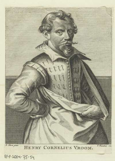 Portret Hendrik Cornelisz Vroom; H. Walpole, Anecdotes of painting in England, 1762